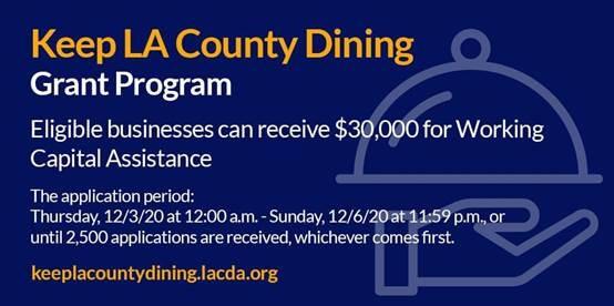 LA County Dining