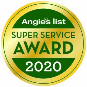 Angie's List 2020 AWard