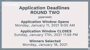 CA Relief Grant Application Windows