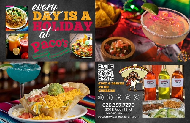 Paco's Meals and Margaritas