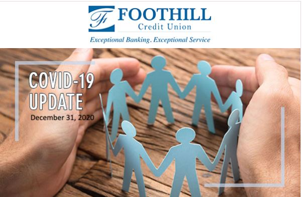 Foothill Credit Union COVID-19 update