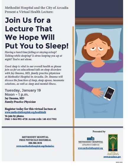 Methodist Sleep Webinar
