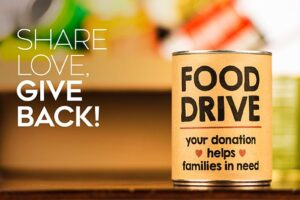 Coldwell Banker Sue Cook food drive