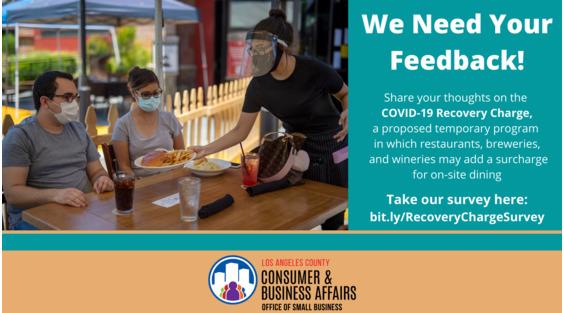 LA County COVID-19 feedback survey