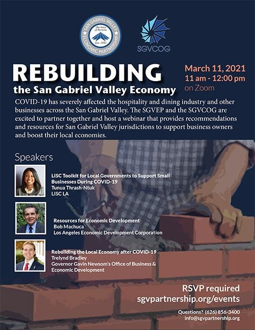 GV Economic Partnership Rebuilding the SGV Economy