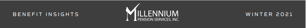 Millennium Pensions banner winter 2021