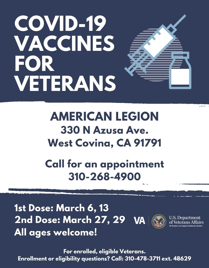 vaccines for veterans wc