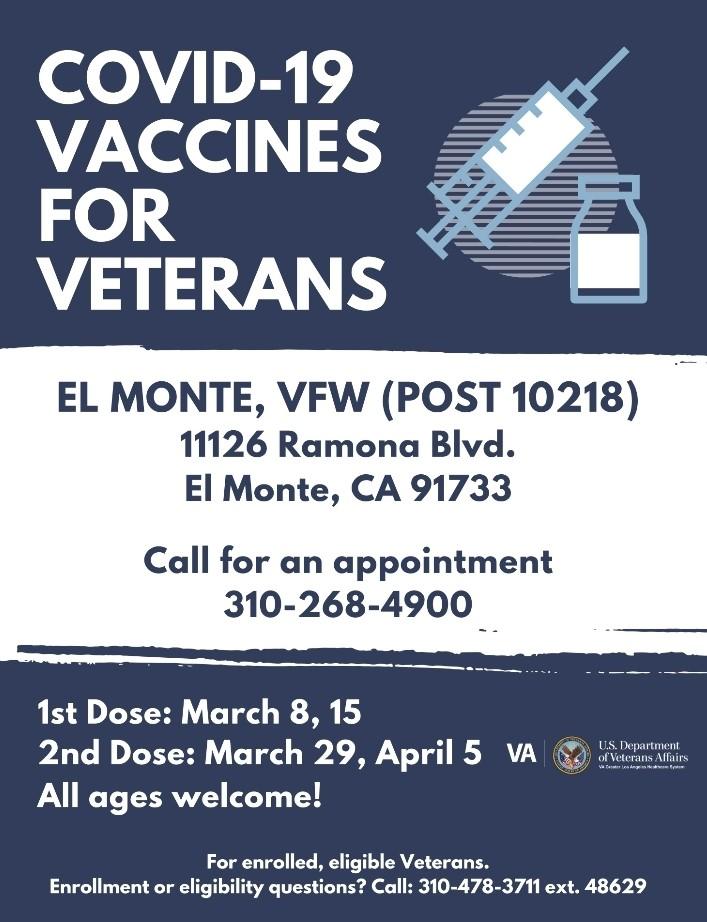 vaccines for veterans
