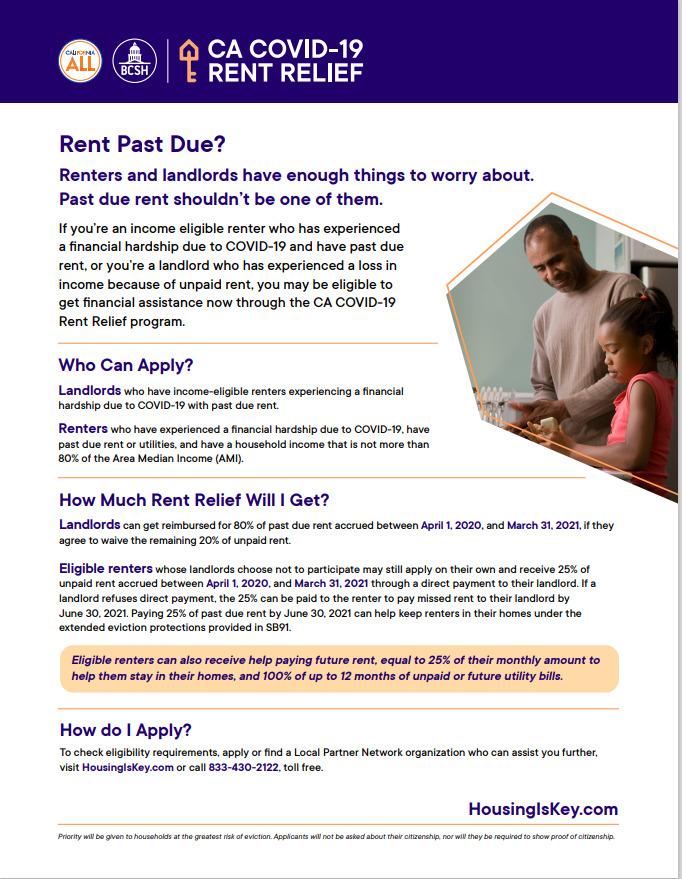 CA Rent Relief