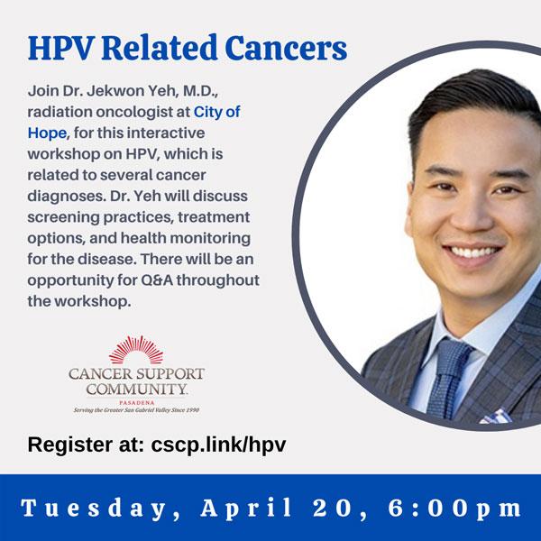 City of Hope HPV Cancer Workshop