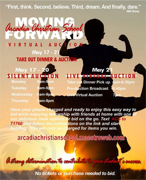 Arcadia Christian School Moving Forward