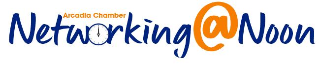 Networking at Noon logo 2021