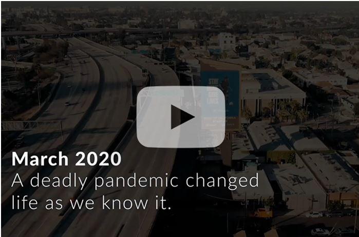 LA County pandemic video image