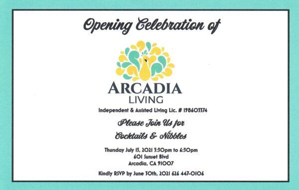 Arcadia Living Opening Celebration