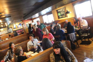 Networking at Outback