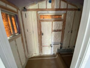 Spray Foam project from Erenay Design Build