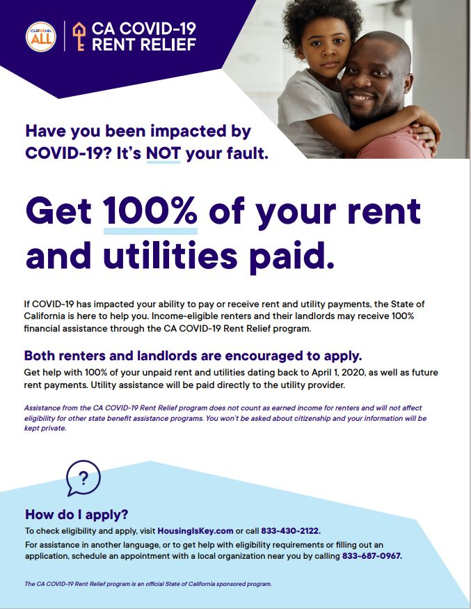 Rent Relief from COVID-19