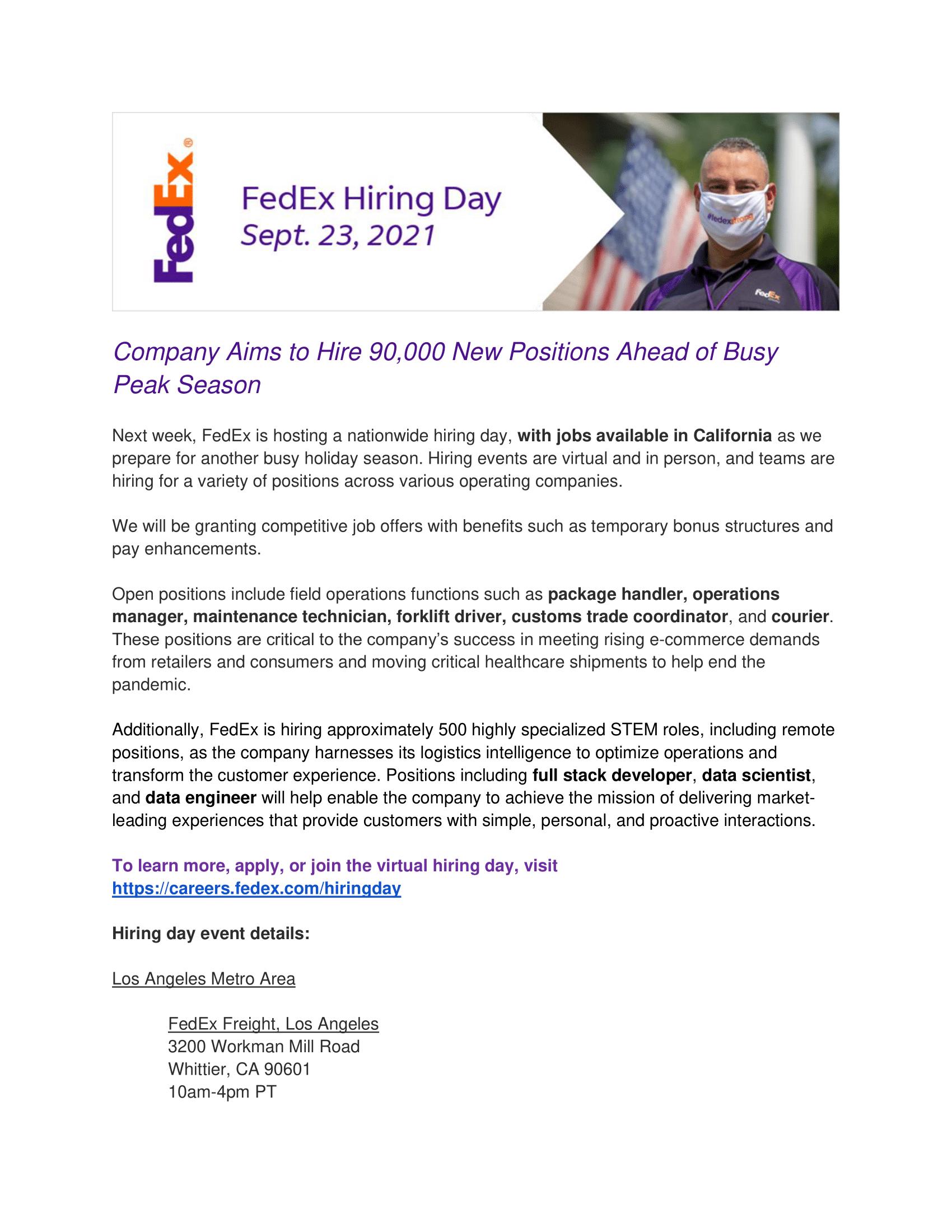 FedEx Hiring Event - September 23 2021-2 PNG