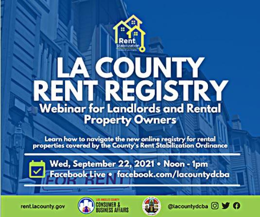 LA County Rent Registry