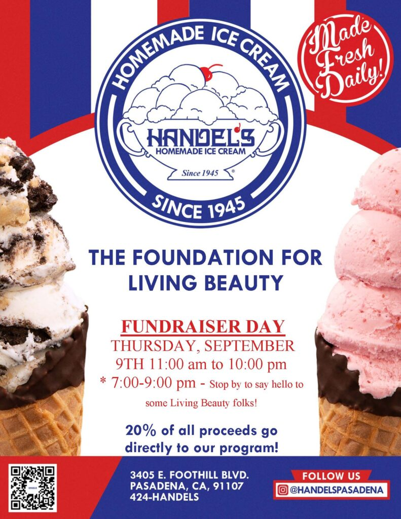Foundation for Living Beauty's Ice Cream with a Purpose