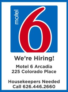 Motel 6 is hiring housekeepers