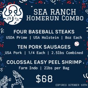 Sea Ranch Homerun Combo